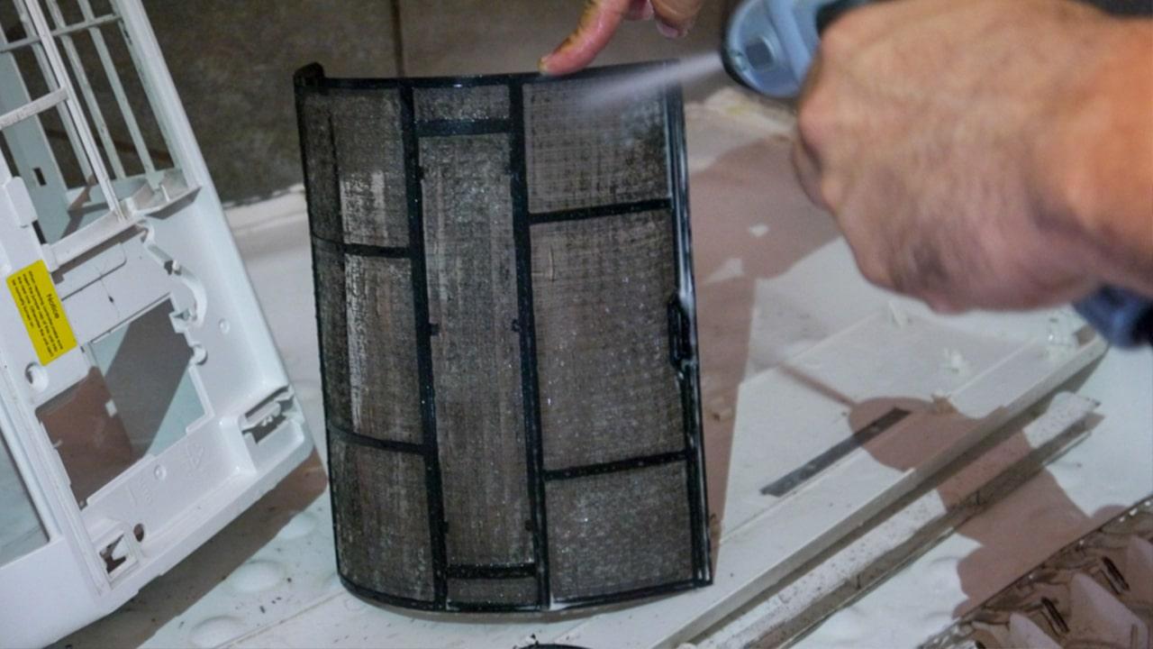 Nettoyage filtres climatisation La Réunion