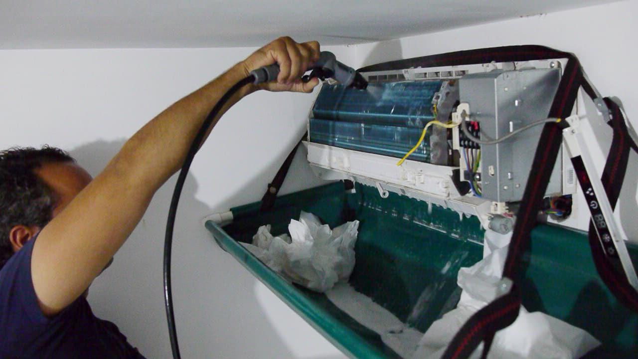 Nettoyage du diffuseur climatisation Réunion
