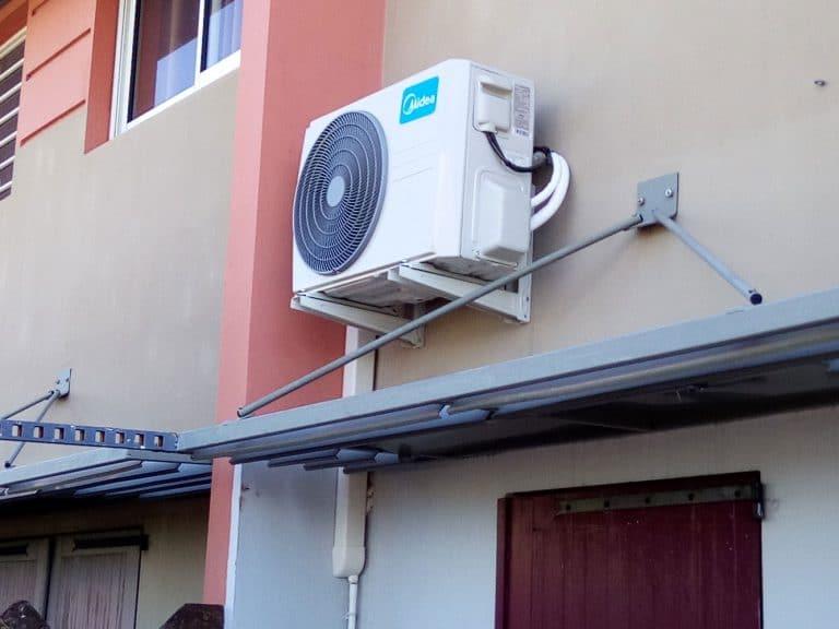 Unité extérieure climatisation monosplit La Réunion